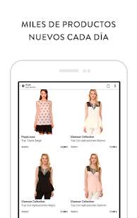 Privalia, outlet moda online- screenshot thumbnail