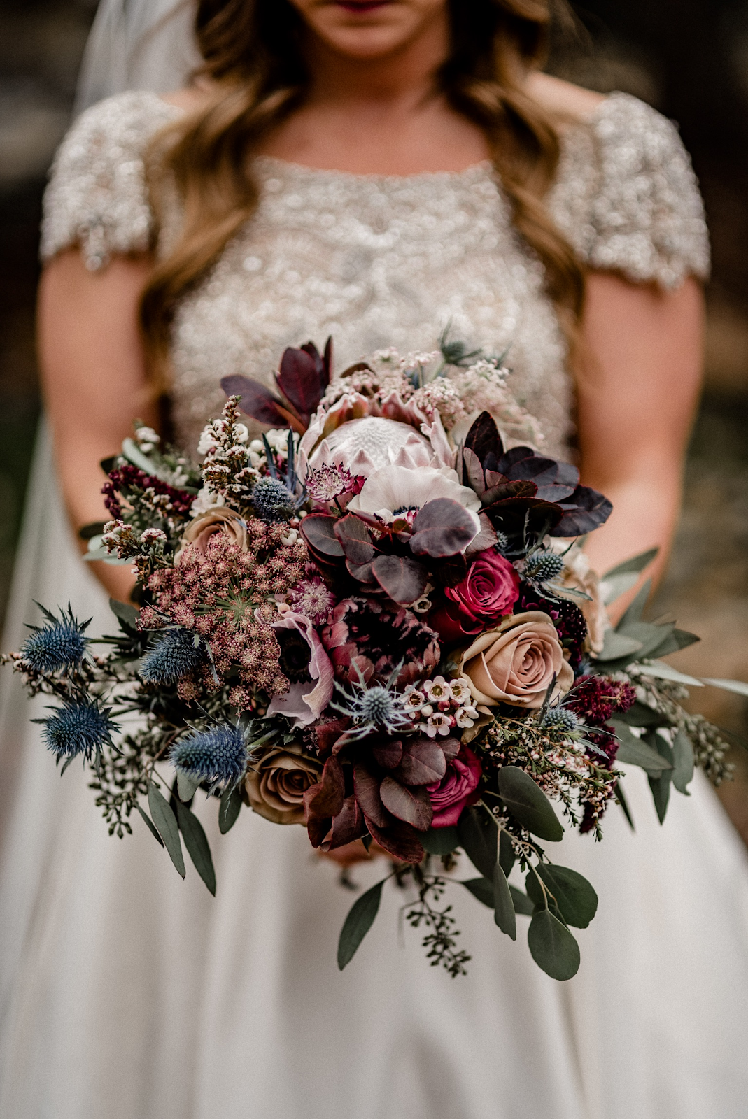 K'Mich Weddings - wedding planning - bouquets with colors - Joy Unspoken Flowers