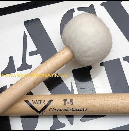 Vater T5 Classical Staccato Timpani Mallets - VMT5