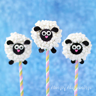 Oreo Lamb Lollipops - Cute Easter Treats