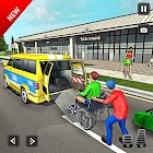 Offroad Taxi Driving Simulator :  Taxi Cab Game