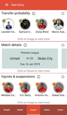 Red Glory - Manchester United Fan App by The Fans - screenshot