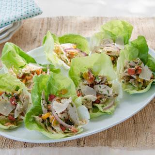 Italian Chicken Salad in Lettuce Cups Recipe