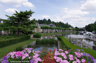 Photo: Ecluse de Briare sur le canal de Briare