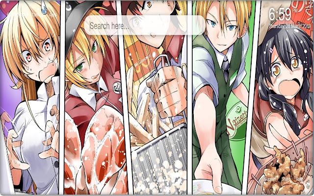 Food Wars Shokugeki no Soma Backgrounds