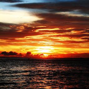 when the sun down by Lou Sanada - Landscapes Sunsets & Sunrises