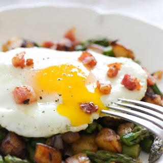 Asparagus-Pancetta Potato Hash Recipe