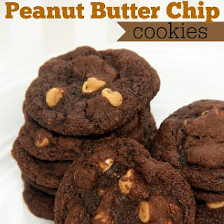 Chocolate Peanut Butter Chip cookies.