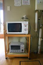 Photo: 電子レンジとトースター 微波炉& 烤箱 microwave oven & toaster