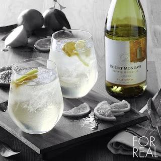 Winter White Wine Spritzer.