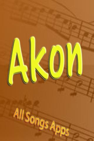 All Songs of Akon
