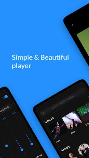 Lark Player - Free MP3 Music & Youtube Player 4.8.9 screenshots 1