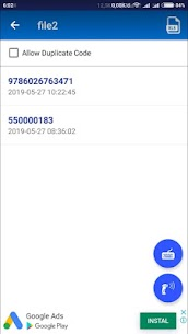 Barcode To Excel – Barcode & QR Code Scanner 4