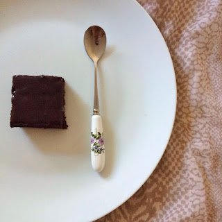 Healthy Vegan Chocolate Sheet Cake with Ganache Frosting