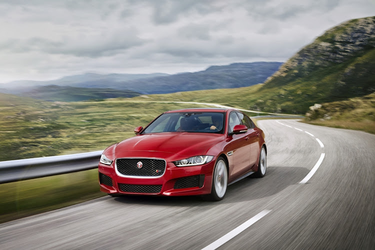 Whether firing off the line or punching out of corners, there's enough muscle on tap in the Jaguar XE S to keep you satisfied