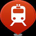 Track Live Train Map icon