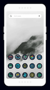 Nightmare Sphere ~ Dark S8/Note8 Icon Pack - náhled