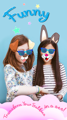 Cute Face Swap Photo Stickers - screenshot