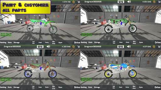 Motorbike real 3D drag racing Wheelie Challenge 3D  screenshots 13