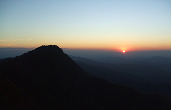 Photo: Sunset view from Phu Miang, Klong Tron national park, Uttaradit