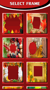 Colorful Autumn Photo Frames - náhled