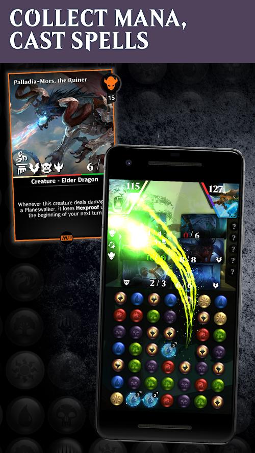 Screenshot 2 Magic: The Gathering - Puzzle Quest 2.9.0 APK MOD
