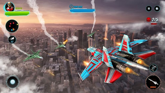 Airplane Robot War City Rescue - náhled