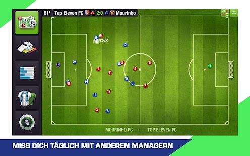 Top Eleven 2019 Mod Apk V8 10 Unlimited Money Tokens Android