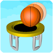 3D Dunk Stairs - Trampoline Hoop Basket Ball