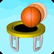 Escadas 3d dunk - bola de basquete de aro de trampolim
