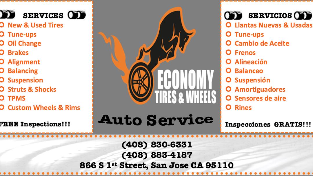 Used Tires San Jose >> Economy Tires Wheels Auto Service Tire Shop Auto