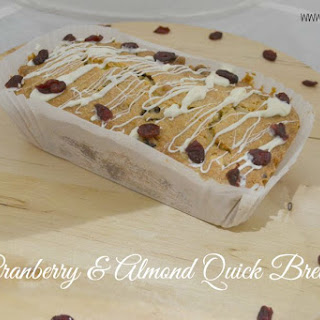 Cranberry & Almond Quick Bread