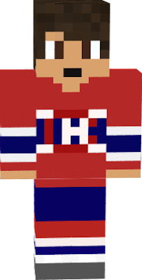 Skin designed after a player for the Montreal Canadiens.