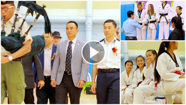 १६औं एचकेएनटिए खुला तेक्वान्दो प्रतियोगिता (भिडियो विशेष)