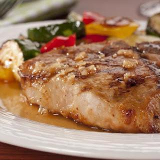 Honey Garlic Pork Chops.