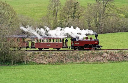 St David's Day on Llanfair Line