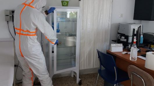 Desinfección del Infoca en seis localidades almerienses