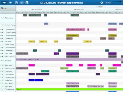 TimeFleX team scheduler Ekran Görüntüsü