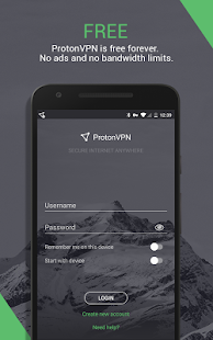 ProtonVPN – advanced online security to everyone Screenshot