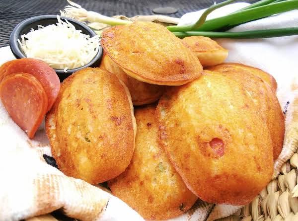 Italian Cornbread Mini Cakes
