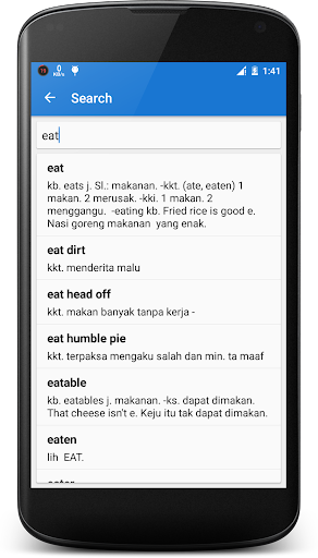 English - Indonesian Dictionary  screenshots 6