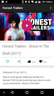 Honest Trailers - náhled