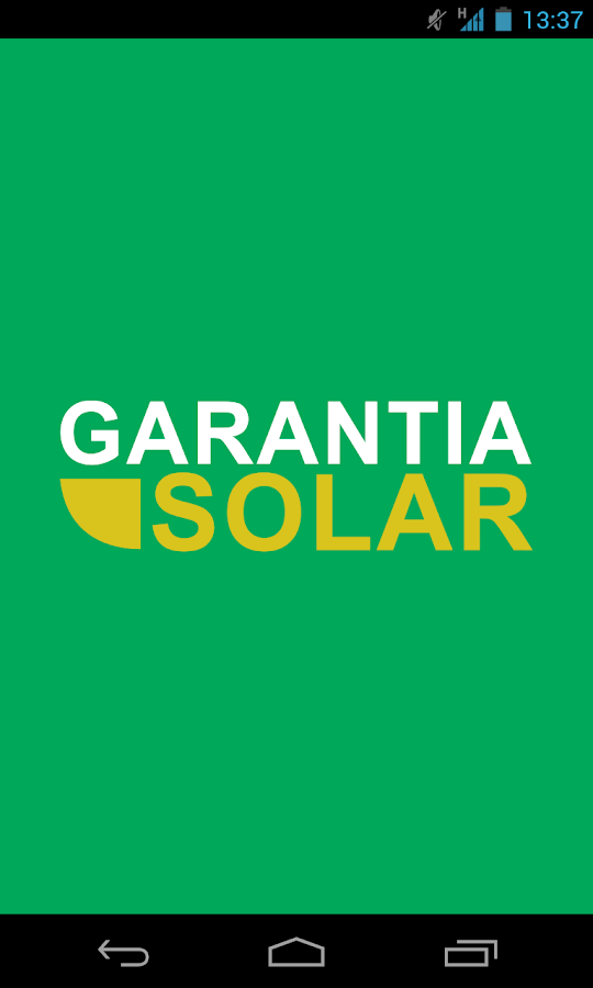 Garantia Solar- screenshot