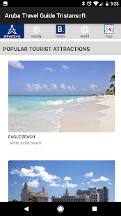 Aruba travel guide Tristansoft - náhled