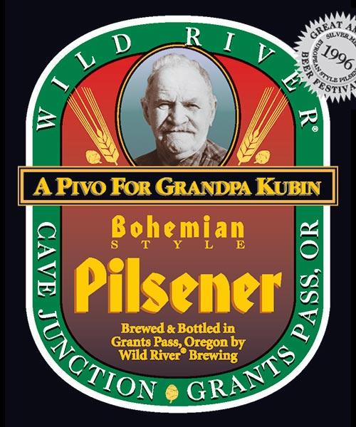 Logo of Wild River Bohemian Pilsener