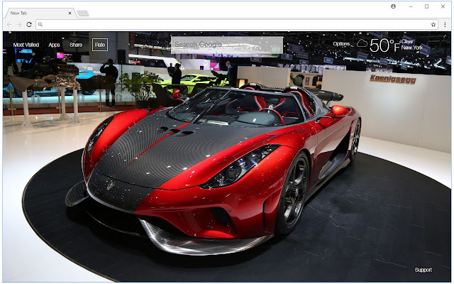 Koenigsegg Wallpapers HD New Tab Themes