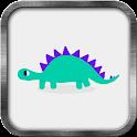 Cute Dinosaur Live Wallpaper icon