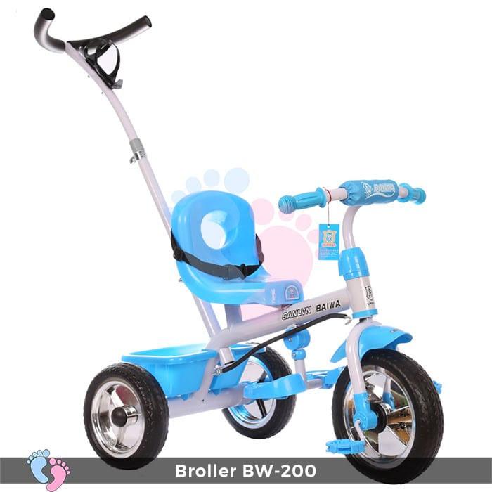 Xe đạp 3 bánh Broller XD3-200 có cây đẩy 8