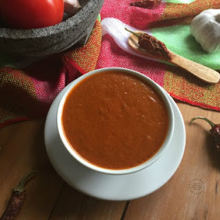 Chipotle Salsa for Tacos Arabes.