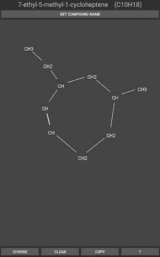 Organic Compound Identifier Pro  screenshots 2